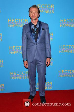 Simon Pegg - UK premiere of 'Hector And The Search For Happiness' - Arrivals - London, United Kingdom - Wednesday...
