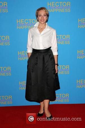 Amanda Abbington - UK premiere of 'Hector And The Search For Happiness' - Arrivals - London, United Kingdom - Wednesday...