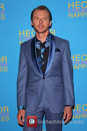 Simon Pegg - UK premiere of 'Hector And The Search...