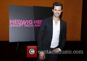 Andrew Rannells - Media day for Andrew Rannells 'Hedwig and the Angry Inch' held at the Lamb's Club - New...