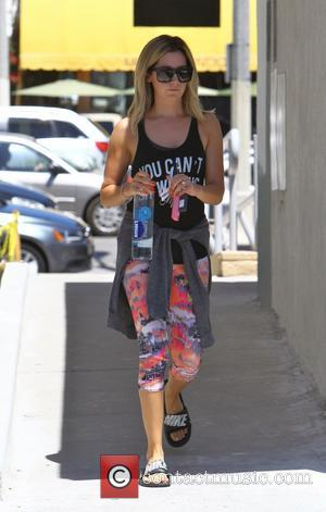 Ashley Tisdale - Ashley Tisdale leaving pilates - Los Angeles, California, United States - Thursday 14th August 2014