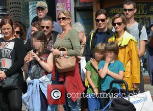 Cillian Murphy, Yvonne McGuinness, Malachy Murphy and Aran Murphy