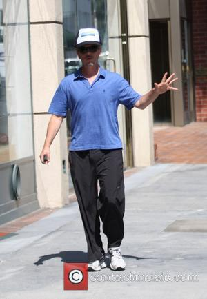 David Spade - David Spade wearing a Malibu cap,  goes to the doctors office in Beverly Hills - Los...