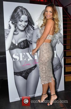 Sam Faiers - TOWIE star Sam Faiers at the Wright Venue Swords for a photocall for her new underwear range...