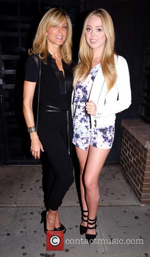 Marla Maples and daughter Tiffany Trump - Sylvester Stallone DuJour magazine cover party at Provocateur nightclub - New York, United...