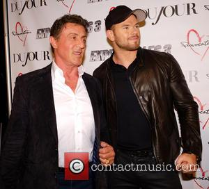 Sylvester Stallone and and Kellen Lutz - Sylvester Stallone DuJour magazine cover party at Provocateur nightclub - New York, United...