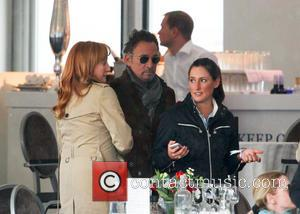 Bruce Springsteen, Patti Scialfa and Jessica Springsteen