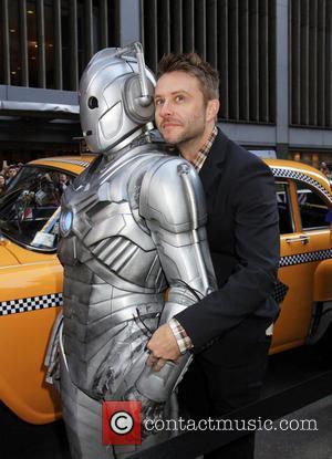 Chris Hardwick and Robot