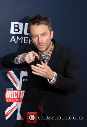 Chris Hardwick - Crowds of Fans came to the Fan Screening Event of Dr Who in NYC. - New York,...