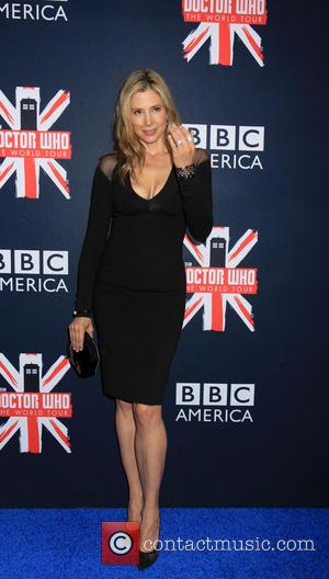 Mira Sorvino - Crowds of Fans came to the Fan Screening Event of Dr Who in NYC. - New York,...