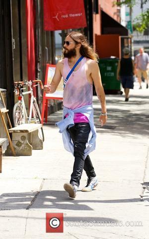 Jared Leto - Jared Leto spotted walking around Nolita in New York City - New York City, New York, United...