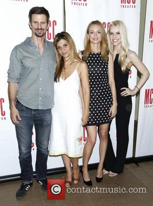 Frederick Weller, Callie Thorne, Heather Graham and Gia Crovatin