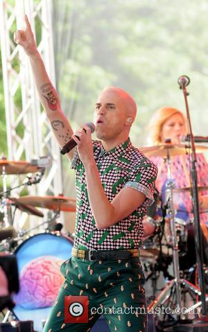 Neon Trees, Tyler Glenn and Elaine Bradley