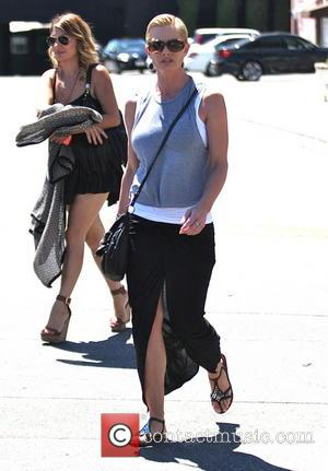 Jaime Pressly - Jaime Pressly out with a friend in Hollywood - Los Angeles, California, United States - Friday 15th...