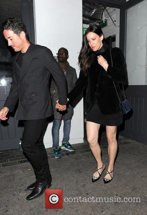 Dave Gardner and Liv Tyler - Nick Grimshaw celebrates his birthday with friends at Shoreditch House - London, United Kingdom...