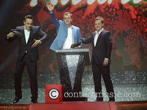 Ant McPartlin, Declan Donnelly and Simon Gregson - Ant & Dec's Takeaway On Tour at Phones 4 U Arena Manchester...
