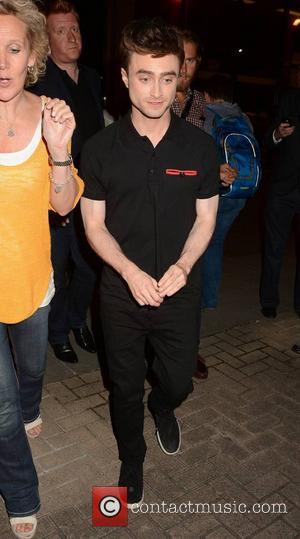 Daniel Radcliffe - Daniel Radcliffe & Guests arrive at The Miriam Show at RTE, Dublin, Ireland - 15.08.14. - Dublin,...