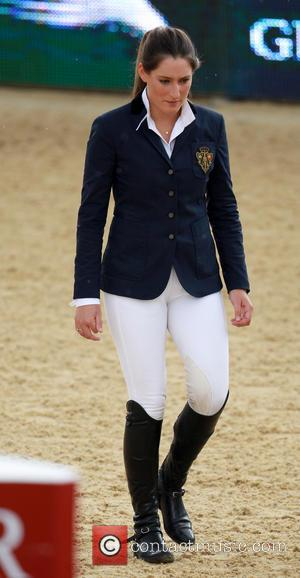 Jessica Springsteen - Jessica Springsteen walks the course before her event at the Longines Global Champions Tour in London -...
