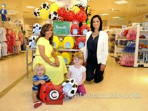 Chantelle Houghton and Amanda Jenner - Chantelle Houghton launches a new line from My Carry Potty with potty training expert...