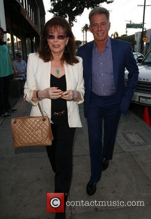 Jackie Collins and Jack Scalia