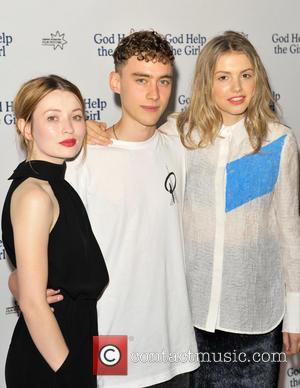 Emily Browning, Olly Alexander and Hannah Murray - 'God Help The Girl' UK premiere at Edinburgh's Corn Exchange, in partnership...