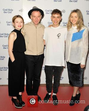 Emily Browning, Stuart Murdoch, Olly Alexander and Hannah Murray - 'God Help The Girl' UK premiere at Edinburgh's Corn Exchange,...