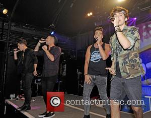 Union J - Union J perform and get wet at G-A-Y Pool Party - London, United Kingdom - Saturday 16th...