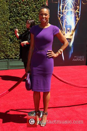 Aisha Tyler - A variety stars turned out in style and took to the red carpet for the 2014 Creative...