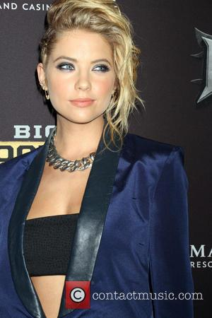 Ashley Benson - Celebrities arrive on the Big Knockout Boxing red carpet at the Mandalay Bay Events Center in the...