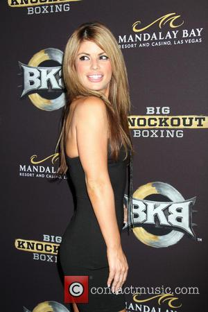Laura Croft - Celebrities arrive on the Big Knockout Boxing red carpet at the Mandalay Bay Events Center in the...