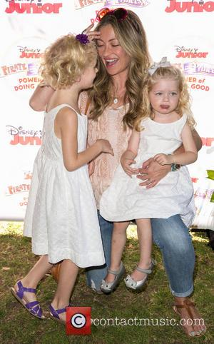 Rebecca Gayheart, Billie Beatrice Dane and Georgia Dane