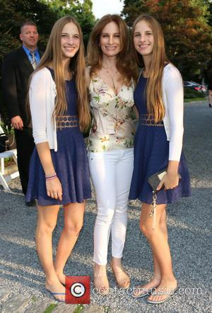 Amber Aylsworth, Bridget Marks and Scarlett Aylsworth - Inaugural benefit for The Children's Justice Campaign held at the home of...