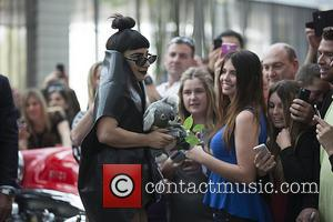 Lady Gaga - Lady Gaga arrives in Perth for the start of her Australian tour - Perth, Australia - Sunday...