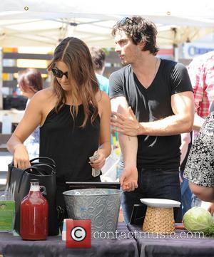 Nikki Reed and Ian Somerhalder - Nikki Reed and Ian Somerhalder shop for Pomegranate Kombuche - Los Angeles, California, United...