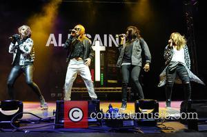 All Saints, Nicole Appleton, Melanie Blatt, Shaznay Lewis and Natalie Appleton - V Festival 2014 - Weston Park - Day...
