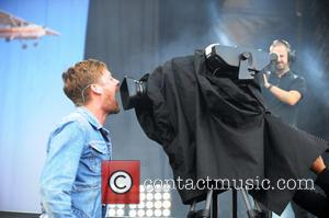 Ricky Wilson and Kaiser Chiefs - V Festival 2014 - Weston Park - Day 2 - WESTON PARK, United Kingdom...