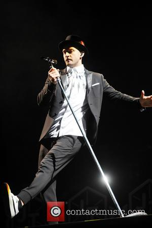 Justin Timberlake - V Festival 2014 - Weston Park - Justin Timberlake performance - Day 2 - WESTON PARK, United...