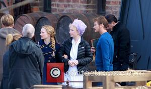 Mia Wasikowska, Lindsay Duncan and Ed Speleers - Mia Wasikowska plays Alice In Wonderland with her on screen mother Lindsay...