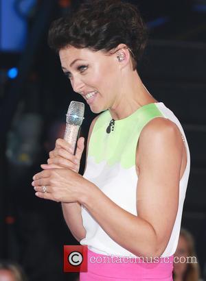 Emma Willis - Celebrity Big Brother 2014 at Elstree Studios - Arrivals - London, United Kingdom - Monday 18th August...