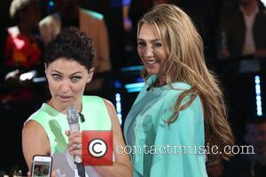 Lauren Goodger and Emma Willis - Celebrity Big Brother 2014 - Arrivals - London, United Kingdom - Monday 18th August...