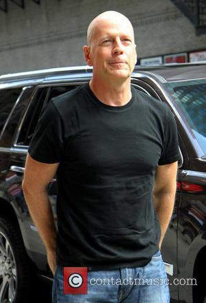 Bruce Willis - Celebrities outside The Ed Sullivan Theater for The Late Show with David Letterman - New York, United...