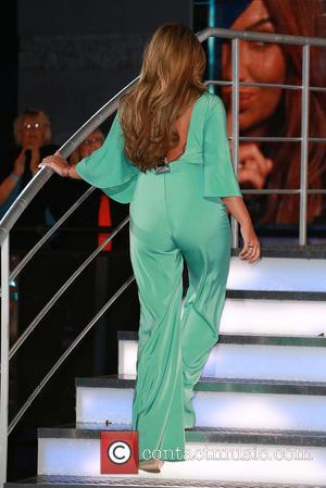 Lauren Goodger - Celebrity Big Brother 2014 at Elstree Studios - Arrivals - London, United Kingdom - Tuesday 19th August...
