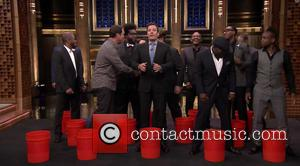 Jimmy Fallon, The Roots, Rob Riggle, Horatio Sanz and Steve Higgins - A-list celebrities including