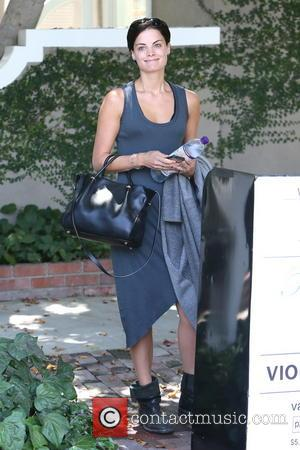 Jaimie Alexander - Jaimie Alexander leaving a cafe on Melrose Place - Los Angeles, California, United States - Tuesday 19th...