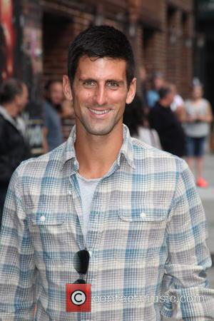 Novak Djokovic - Celebrities outside The Ed Sullivan Theater for The Late Show with David Letterman - New York City,...
