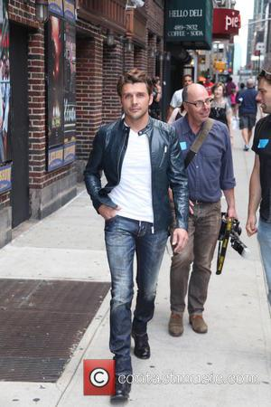 Robby Johnson - Celebrities outside The Ed Sullivan Theater for The Late Show with David Letterman - New York City,...