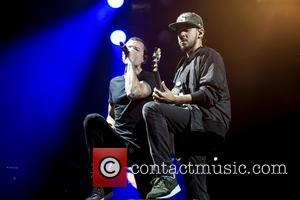 Linkin Park - Linkin Park performs at the Carnivours Tour - Wantagh, New York, United States - Tuesday 19th August...