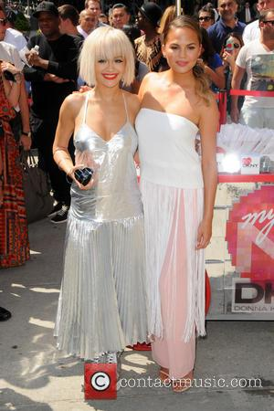 Rita Ora and Chrissy Teigen