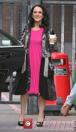 Lesley Joseph - Celebrities at the ITV studios - London, United Kingdom - Tuesday 19th August 2014