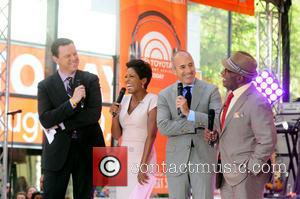 Willie Geist, Tamron Hall, Matt Lauer and Al Roker